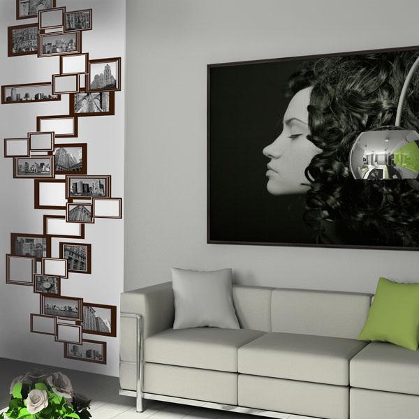 Cadres photos une touche tendance dans votre d cor for Decoration interieure papier peint
